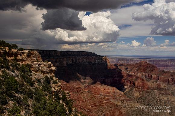 Incoming North Rim Monsoon Grand Canyon