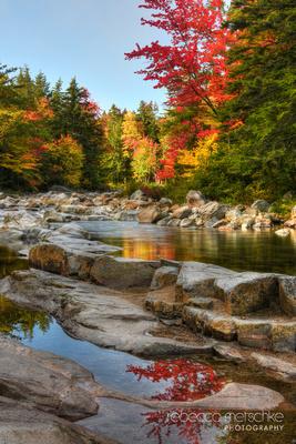 Rocky Gorge White Mountains New Hampshire