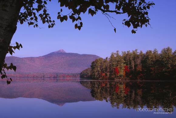 Mirror Image Mount Chocorua New Hampshire
