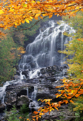Beaver Brook Falls in Autumn